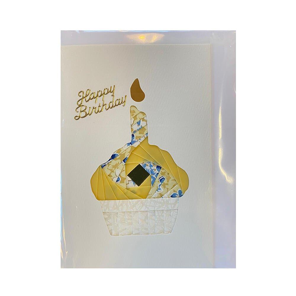 cupcake-card-yellow