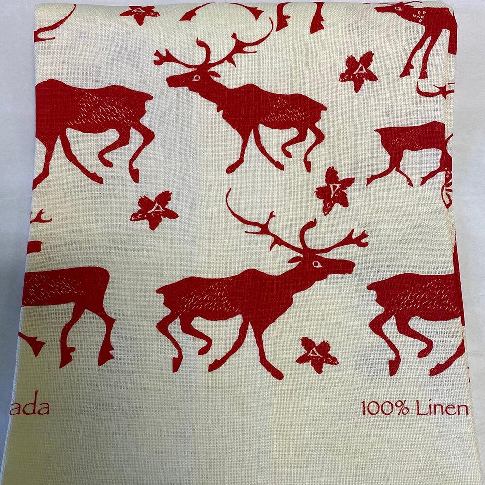 Caribou Tea Towel