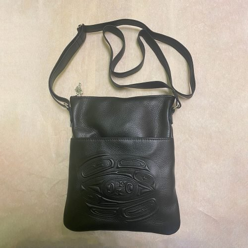 Embossed Solo Bag Black