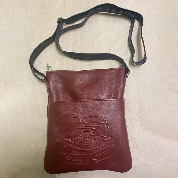 Embossed Solo Bag Red