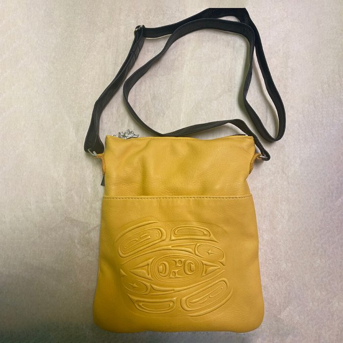 Embossed Solo Bag Yellow