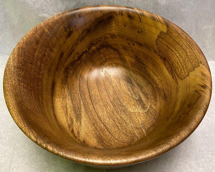 Large Myrtlewood Bowl