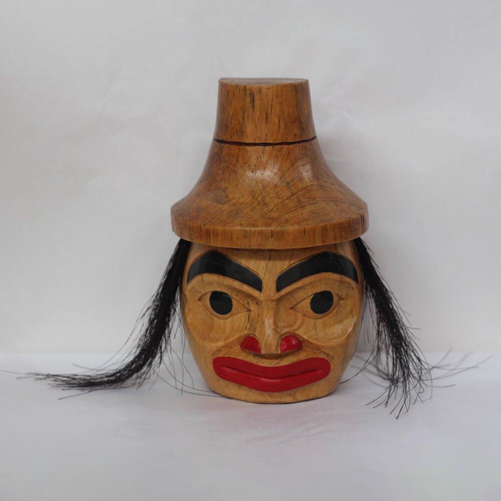 Painted Haida Man Mask