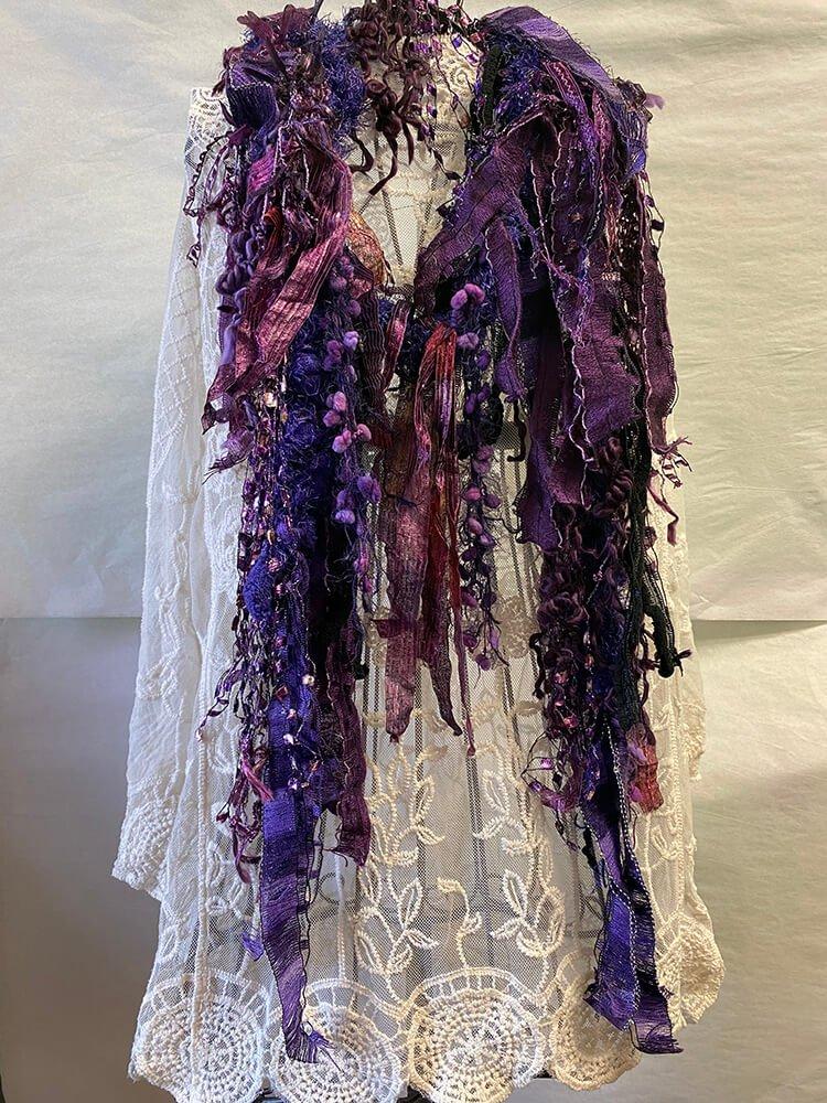 Scarf Purple