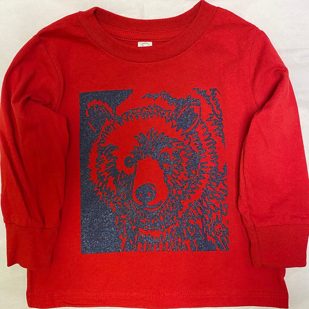 Toddler Long Sleeve Red
